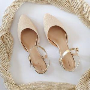 NEW Size 8.5 Lands End Sandals/Shoes w Ankle Strap